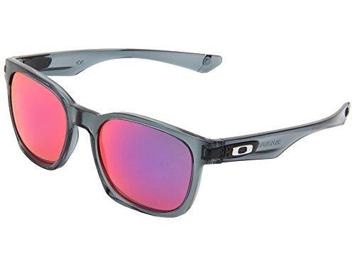 Oakley Garage Rock OO9175-21 Iridium Sport Sunglasses,Crystal Black,55 mm