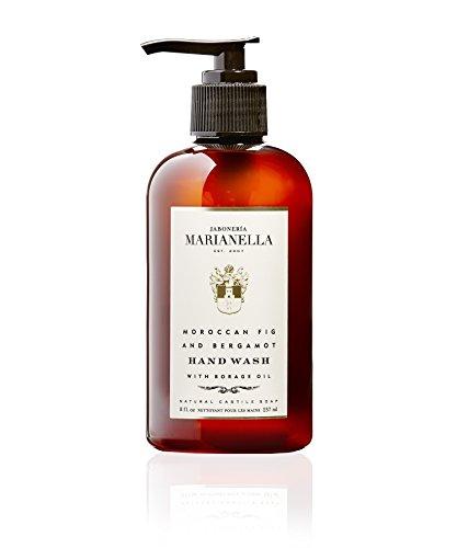 (Moroccan Fig and Bergamot Premium Hand Wash, Moisturizing Luxury Hand Wash for Men and Women, Made in USA (8 Fl Oz))