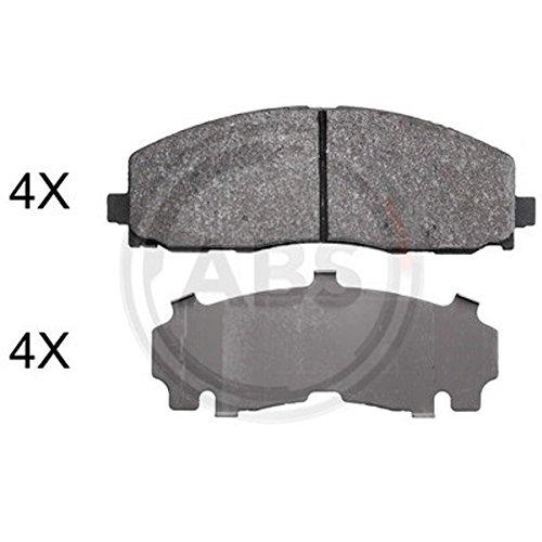 ABS 37936 Disco Kit pastiglie freno ABS All Brake Systems bv