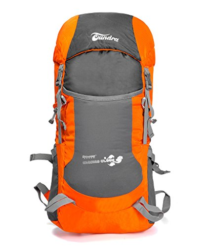 Showtime Backpacker Rucksack- Reiserucksack Für Camping Wandern Bergsteigen Radfahren- 35L wasserdichter faltbarer leichter Trekkingrucksack