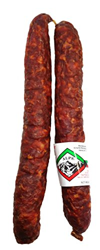 Alps Natural Casing Dry Sausage - 2 Pack -