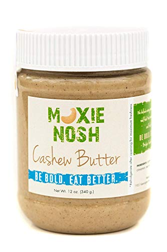 All Natural Cashew Butter, 12 oz, Free of Added Sugars, Preservatives or Hydrogenated Oils, Gluten, Soy and Dairy Free, Low Carb, Vegan, Whole 30, Paleo Friendly