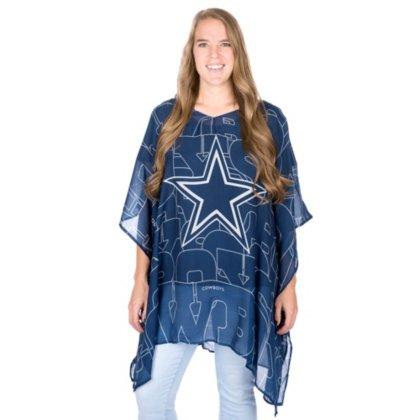 - NFL Dallas Cowboys Flower Caftan