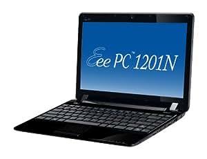 ASUS Eee PC Seashell 1201N-PU17-BK 12.1-Inch Black Netbook - 5 Hours of Battery Life