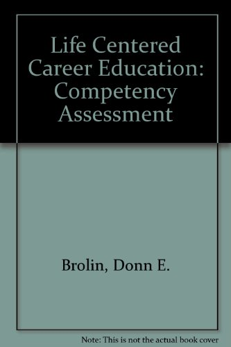 Life Centered Career Education Competency Assessment Knowledge Batteries