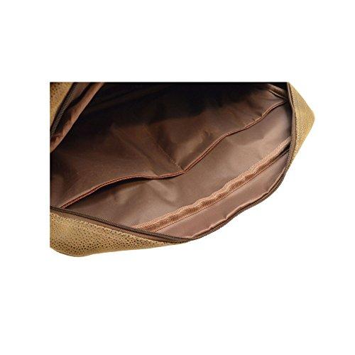 Laptop-/Aktentasche mit abnehmbarem und verstellbarem Schultergurt