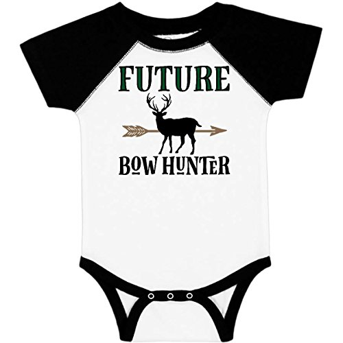 inktastic - Hunting Future Bow Infant Creeper 12 Months White & Black 2de66