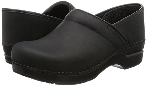 Dansko Women's Professional Mule,Black Oiled,35 EU/4.5-5 M US