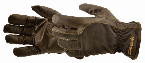 Manzella Men's Circle M Ranch Gloves (Brown, X-Large)