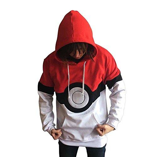 Pokemon Kaputzenpulli Pokeball Unisex S-XXL