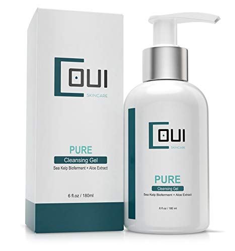 PURE CLEANSING Facial Gel Vegan Natural Daily Cleansers - Anti Aging, Oil-free For Clogged Pores Oily Skin