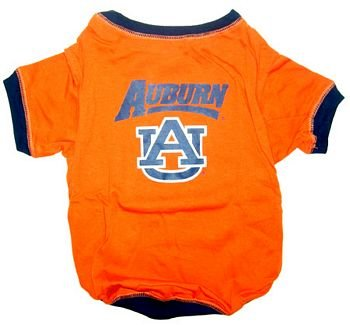 NCAA Auburn University Pet T-Shirt, Medium, My Pet Supplies