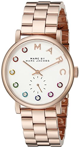 Marc by Marc Jacobs Women's MBM3441 Baker Rose Gold-Tone Stainless Steel Watch