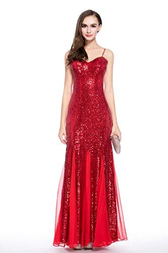 Red s cotyledon Dresses Dress Dresses Halter Sleeveless Gown Neck Women Prom Rqwvg