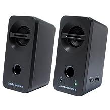 Audio-Technica desktop speakers black AT-SP93-BK