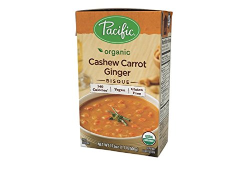 PACIFIC FOODS SOUP CASHEW CARROT