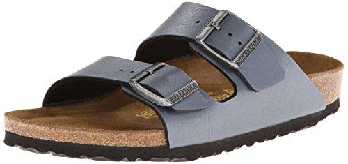 Birkenstock Arizona, Zapatos con Hebilla para Unisex adulto Ice Pearl Onyx