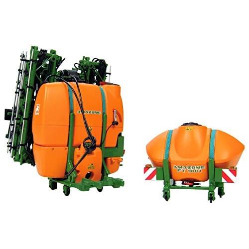 Universal Hobbies UH2905 - Remorque - Pulvérisateur - Amazone Uf1801/Ft1001 - Echelle 1/32 - Orange