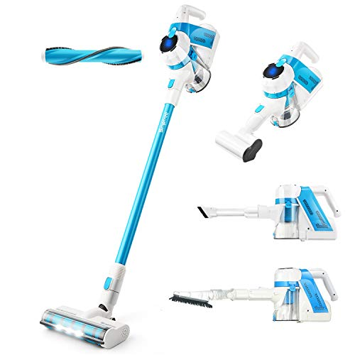 SIMPFREE Cordless Stick Vacuum Cleaner, Lightweight Handheld Vacuum Powerful Cleaning (5 in 1 Vacuum Cleaner)