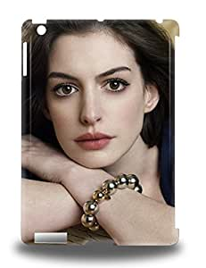 Ipad Air Hard Back With Bumper Silicone Gel Tpu 3D PC Case Cover Anne Hathaway American Female Les Miserables The Devil Wears Prada The Princess Diaries ( Custom Picture iPhone 6, iPhone 6 PLUS, iPhone 5, iPhone 5S, iPhone 5C, iPhone 4, iPhone 4S,Galaxy S6,Galaxy S5,Galaxy S4,Galaxy S3,Note 3,iPad Mini-Mini 2,iPad Air )
