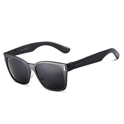 29ae9befa4 Guztag unisex classic men aluminum sunglasses polarized uv400 - OC2O™