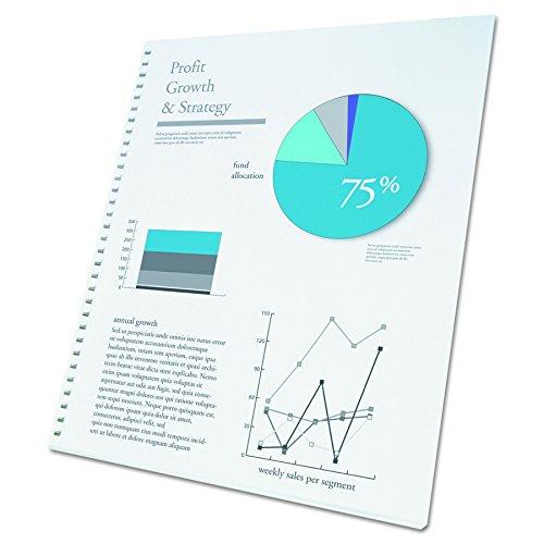 GBC ProClick Presentation Paper, Prepunched, 96 Bright, 24 lb,Letter Size (8.5 x 11),  250 sheets (2514479) ()