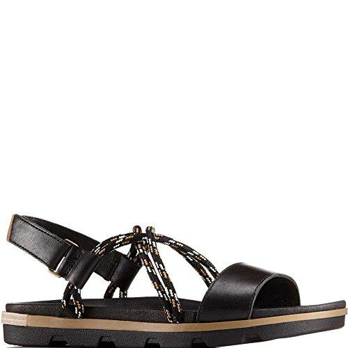 Toe Black Sandals Ii Women's Torpeda Sorel Open xIwqUg0BR
