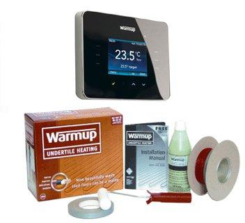 Warmup DWS 300 Underfloor Heating Kit 3IE Thermostat 1.5-2.4m2