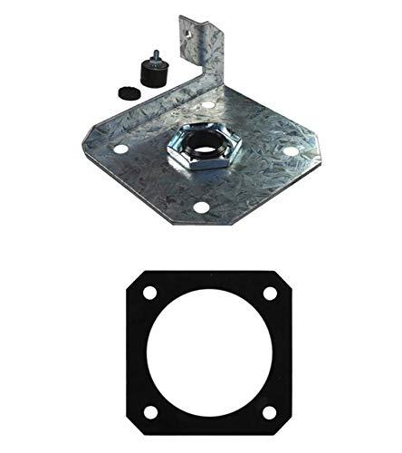 PelletStovePro - Whitfield Advantage I, II, II-T, III Plus Auger Endplate Assembly 12153900, 13650072, 13052000, 61050003 by PelletStovePro