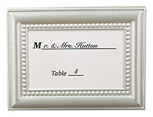 280 Decorative Brushed Silver Picture Frames w/Beaded Inner Border ()