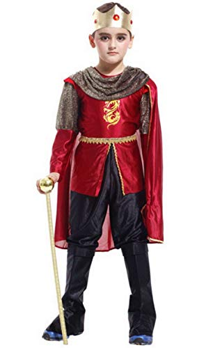 Brcus Boys Lord Prince Noble King Halloween Cosplay Costume Role Play Dress up -