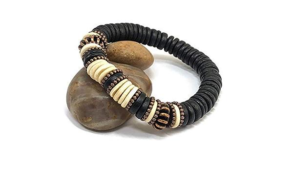 Rustic Bracelets Hematite Boho Bracelet Hippie Bracelet Birthday Gifts Beaded Bracelet Gemstone Boho Bracelet Yoga Bracelet