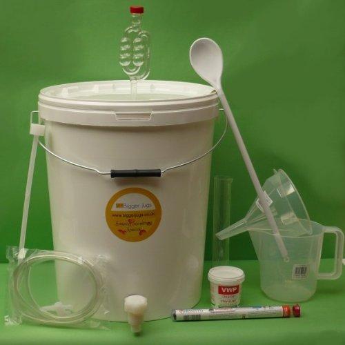 BJ #4s Kit - 25L Winemaking Equipment Set (30 bottles size) Bigger Jugs
