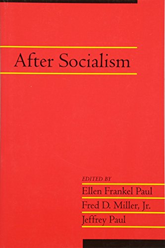 After Socialism: Volume 20, Part 1 (Social Philosophy and Policy) (v. 20)