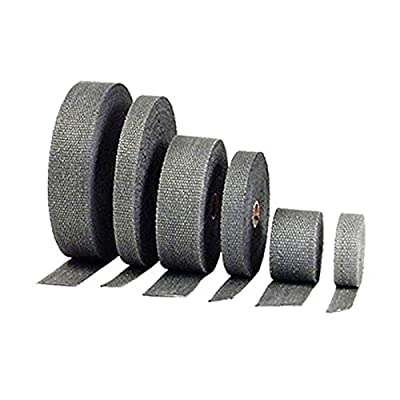 DEI EXHAUST HI-TEMP HEAT WRAP, BLACK TITANIUM, 2 INCH X 15 FEET: Automotive