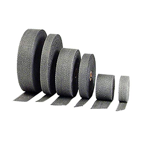 DEI EXHAUST HI-TEMP HEAT WRAP, BLACK, 2 INCH X 50 FEET