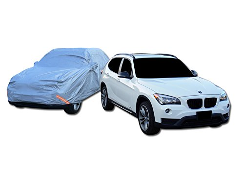 HS Power 4600MM 4 Layer Waterproof Anti UV RAIN Resistant SUV CAR Cover+Mirror Pocket CA1