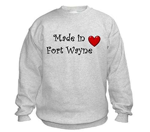 MADE IN FORT WAYNE - City-series - Light Grey Sweatshirt - size XXL