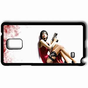 Personalized Samsung Note 4 Cell phone Case/Cover Skin Ada Wong Black