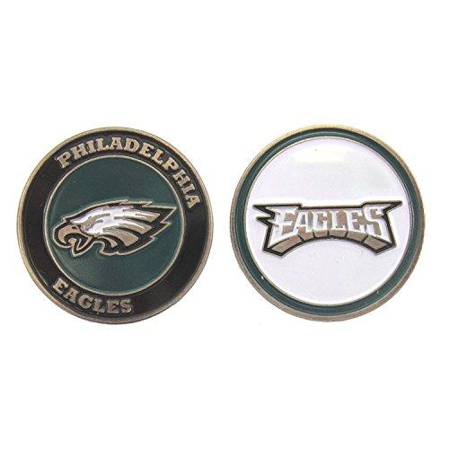 (Philadelphia Eagles Double-Sided Golf Ball Marker)