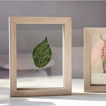 Amazoncom Deemoshop Vintage Double Sided Glass Photo Frame Plant