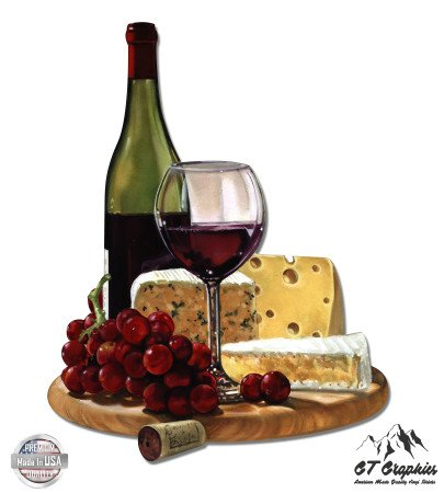 Wine and Cheese Gourmet Food - 3