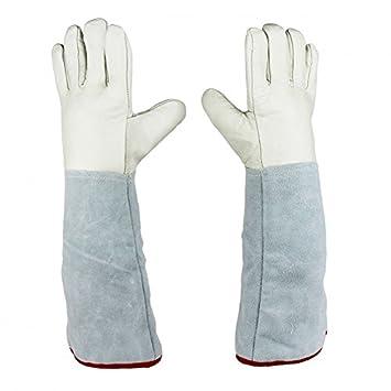 Dos par de sólido 45 cm (13,8 cm) guantes protectores para ...