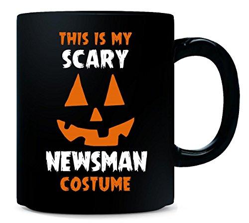 [This Is My Scary Newsman Costume Halloween Gift - Mug] (Newsman Costume)