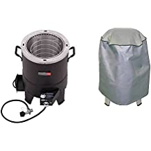 Char-Broil TRU-Infrared Big Easy Oil Less Turkey Fryer w/ Roaster & Grill Cover