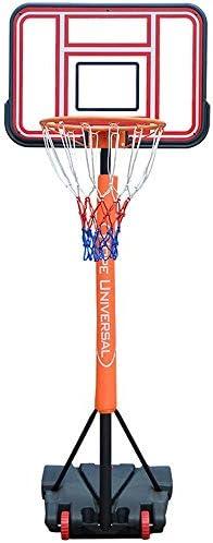 屋内バスケットボールラック 子供のバスケットボールは、屋内リフティング撮影フレームユーストレーニング撮影フレーム幼稚園屋外バスケットボールフレームラック スタンディングバスケットボールセット (Color : Red, Size : 1.50-2.10m)
