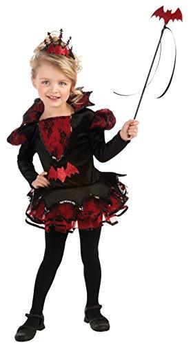 Bat Ballerina Costume (Rubie's Costume Deluxe Batista Ballerina Costume, Black, Toddler)