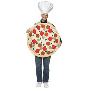 Disfraz pizza para adulto