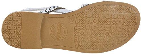 Pablosky Jungen 833500 Sneakers Elfenbein (Blanco 833500)