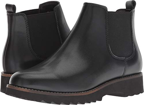 Blondo Women's Roman Waterproof Black Leather 6 M US M